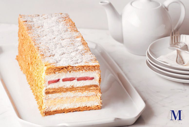 Lady M® Strawberry Mille Feuille
